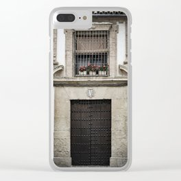 Casa Numero 2 (House Number 2) Clear iPhone Case