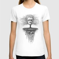 edgar allen poe T-shirts featuring Edgar Allan Poe, Poe Tree by Newmanart7 -- JT and Nancy Newman, Art a