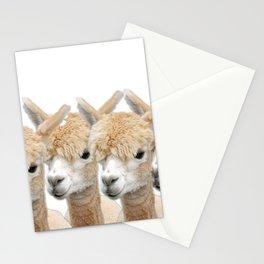 Alpaca Line Up Stationery Cards