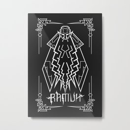 Ramuh Metal Print