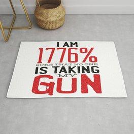 Guns & Second Amendment Rug