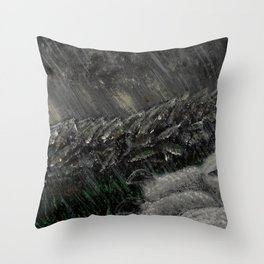 The Sheltering Flock Throw Pillow
