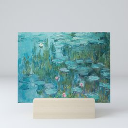 Monet - Water Lilies Mini Art Print