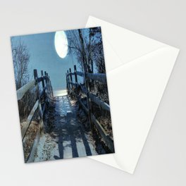 Under The Moonbeams Stationery Cards
