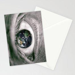 Die Welt mit deinen Augen sehen ! Stationery Cards