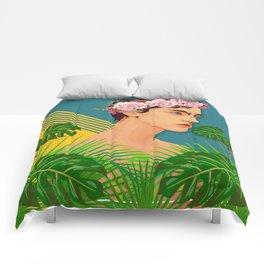 BOY OVER FLOWERS Comforters