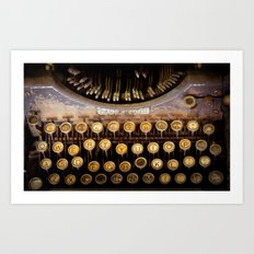 The Wordsmith Art Print
