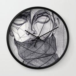Alisa Ahmann by Txema Yeste - Artist: Leon 47 ( Leon XLVII ) Wall Clock