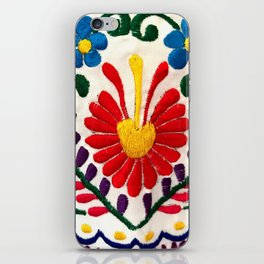 Red Mexican Flower iPhone Skin
