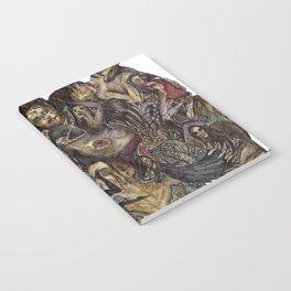 Dark Bloom Notebook