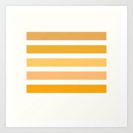 Sunburst Art Print Art Print