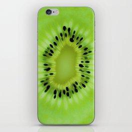 Kiwi fruit pattern iPhone Skin