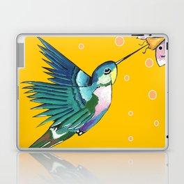 Hummingbird Yellow Laptop & iPad Skin