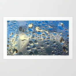 Condensation 07 - Ommatidia Art Print