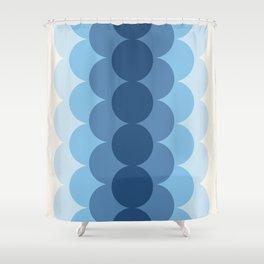 Gradual Glacial Shower Curtain