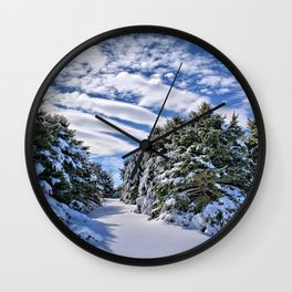 Pine Grove Wall Clock