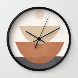 Minimal Shapes No.39 Wall Clock