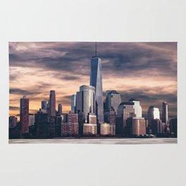 Dramatic City Skyline - NYC Rug