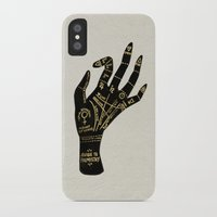 occult iPhone & iPod Cases featuring Palmistry by Cat Coquillette