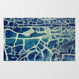 Blue-Yellow abstract Rug