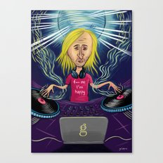 David Guetta Canvas Print