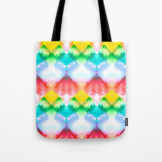 Crystal Rainbow Tote Bag