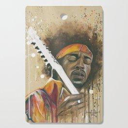 Jimi Hendrix Cutting Board