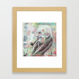 JRR Tolkien - One Author To Rule Them All Framed Art Print