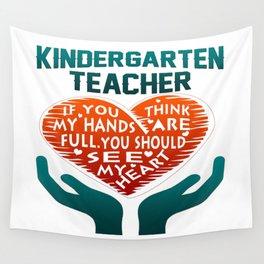 Kindergarten Teacher Wall Tapestry