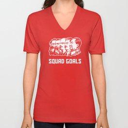Communist Squad Goals Unisex V-Neck