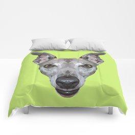 Whippet // Green (Vespa) Comforters