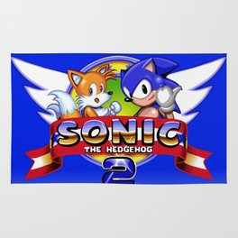 Sonic and Tails Rug