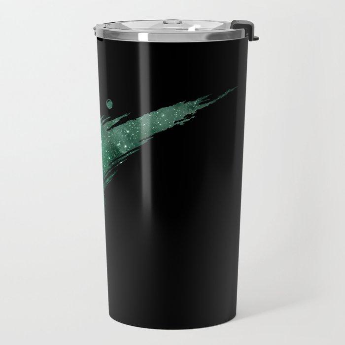 Final Fantasy VII logo universe Travel Mug