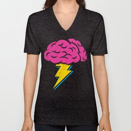 Brainstorm Unisex V-Neck