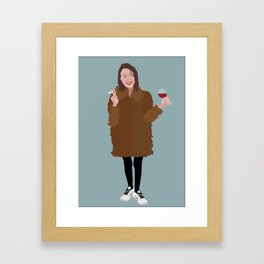 Hapy New Year, Be the best version of yourself Framed Art Print
