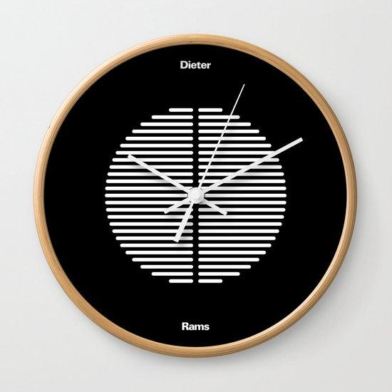 DIETER RAMS Wall Clock