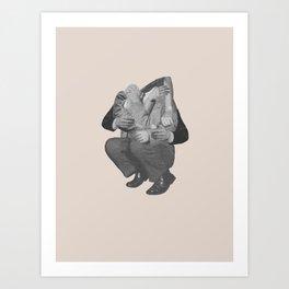 Scramble Art Print