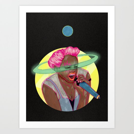 Soto Voce - Girlschool Art Print
