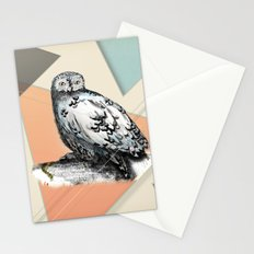 Owl McSit by carographic Stationery Cards