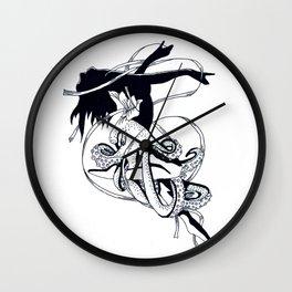Poulpe De Ballet Wall Clock