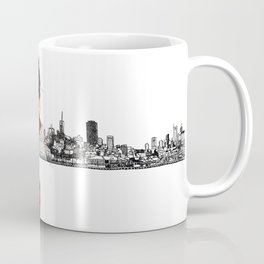 Blood Woman in The City Coffee Mug