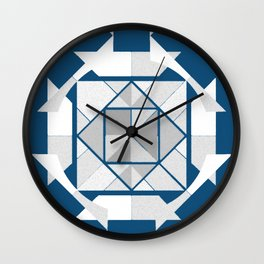 Thorn Compass Wall Clock
