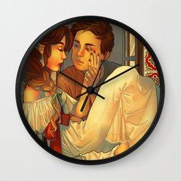 Lovestruck Romeo  Wall Clock