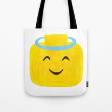 Emoji Minifigure Angel Devil Tote Bag