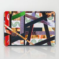 ruben ireland iPad Cases featuring Ruben (stripes 19) by Wayne Edson Bryan