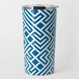 10 Print: Bold Blue Travel Mug
