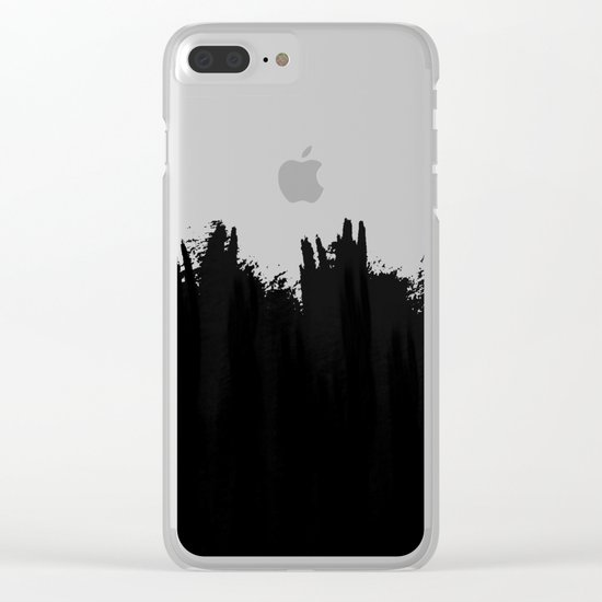 Fade into You Clear iPhone Case