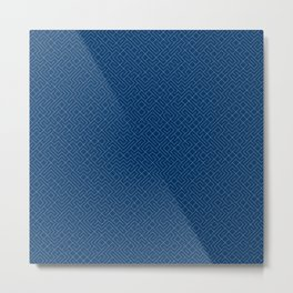 10 Print: Thin Blue Metal Print