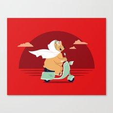 Ciao-Ciao Canvas Print