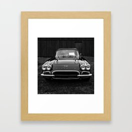 Classic Chevrolet Corvette  Framed Art Print